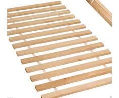 Rollrost 120x200 (10 Leisten auf 2 meter verteillt) nicht verstellbar unverstellbar Fichtenholz Rolllattenrost geeignet für Kinderbetten