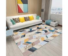 Nuanxin Geometrische Punktliniengrafiken, Couchtisch-Teppich Für Zu Hause, Nordischer Wohnzimmerteppich, Schlafzimmertextilien, Polyestermaterial, DREI Größen F20 (Size : 160 * 230cm)