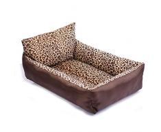 ZHANGYY Haustier Hund Selbstkühlende Matte Kühlmatten Bett Nicht klebend Ungiftig Atmungsaktiv Waschbar Rattan Cat Gel Pad-L