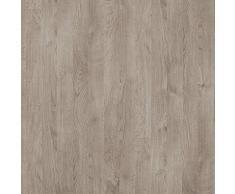 Amazon Marke - Movian Kolva moderner Nachttisch mit 2 Schubladen, 37,7 x 44,5 x 47, Eiche Optik