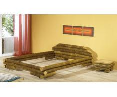 Bambusbett MAUI Bett aus Bambus 140x200cm (ohne Lattenrostauflage)
