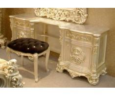 Frisier - Tisch Schminktisch Kommode für Schlafzimmer Antik Stil Barock Vp7706