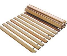 2x 90x200 Rollrost 10 Leisten 180x200 cm nicht verstellbar unverstellbar Rolllattenrost Fichtenholz