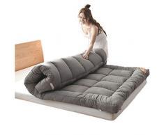 JJKB Doppel-einzelboden Matratze Japanisch,studentenwohnheim Falt-matratze,futon Bodenmatratze,weiche Und Atmungsaktive Tatami Falten Futon Dicke 5cm-a 120x200cm(47x79inch)