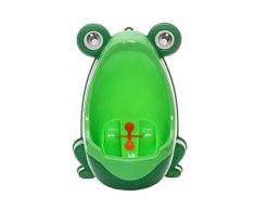Tenflyer Frog Kinder Töpfchen WC Training Kit Urinal für Boy Pee Trainer Badezimmer