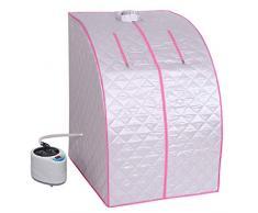 Heimsauna-Box Praktische zusammenklappbare Dampfbox-Halterung Dampfbox, Spa, Gewichtsverlust, Entgiftung, Entspannung zu Hause, 99-Minuten-Timer