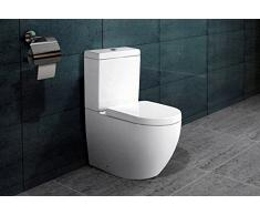 Bodenstehend Kombination Stand WC Nano Beschichtung SoftClose B2376A
