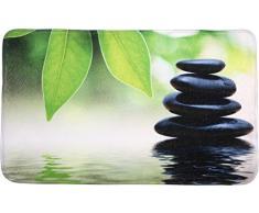 Sanilo Badteppich, viele schöne Badteppiche zur Auswahl, hochwertige Qualität, sehr weich, schnelltrocknend, waschbar (50 x 80 cm, Harmony)