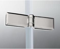120x140cm Duschabtrennung Badewannen Faltwand Aufsatz Badewannenfaltwand Duschwand (H2H-12)