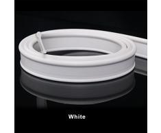 Weiß 1,2m Gummi Dichtung Weich Duschabtrennung Duschwand Duschtür Falttüren Duschtrennwand