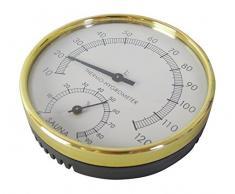 Relsuna Garten und Sauna Thermometer und Hygrometer