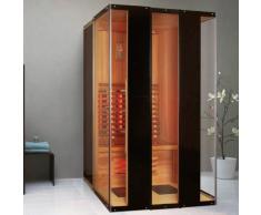Infrarotkabine Madeira Infrarot Sauna für 2 Personen Wärmekabine Infrarotsauna