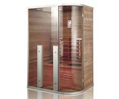InfrarotkabineLobos, Hemlock Holz, Wärmekabine, Sauna, Infrarotsauna, Infrarotwärmekabine