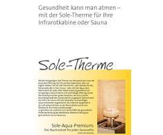 Infraworld TrioSol Alpina Zirbe 150 Infrarotkabine Vitalight Sole