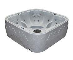 Dream 7 Outdoor Whirlpool Spa / Balboa Steuerung / 5 Personen Aussenwhirlpool