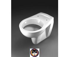 Keramag Fondo Wand WC Tiefspül WC weiss