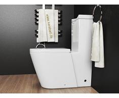 DESIGN STAND-WC + WC SITZ + SPÜLKASTEN / KOMBINATION KB380