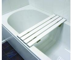 Drive Medical SBB427WH Badewannenaufsatz / Badewannenablage, 4 Latten, 68 x 24 x 2 cm, Weiß