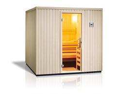 Infraworld Sauna Safir Elementsauna Größe 213x213 cm 391003
