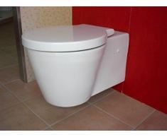 Duravit Wand WC (ohne Deckel) Starck 1 Tiefspüler, weiß wandhängend