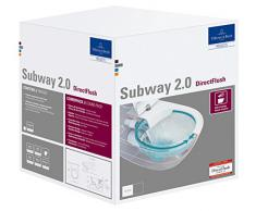 Villeroy & Boch Subway 2.0 WC-Kombi-Pack mit Ceramic+