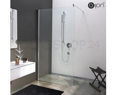 Hochwertige Design Duschwand mit Nanoeffekt | 90 x 200 cm | M1 bijon®