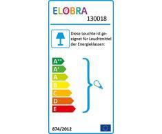 Elobra Kinderlampe Deckenleuchte Pferdekutsche Prinzessin, Kinderzimmer, Holz, rosa, A++