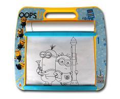 Minions Rolling Art Desk - Minion Zeichenpult - Maltisch - Kindermaltisch - Malset