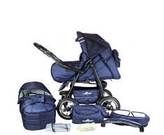 Bergsteiger Rio Kombikinderwagen + Softtragetasche + Wickeltasche (10 - Teile)