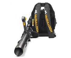 McCulloch Rücken-Laubbläser GB 355 BP, Gartensauger-/Bläser mit 1500 W Motorleistung, variable Drehzahl, mit Rückentrage (Art.-Nr. 00096-70-887.01)