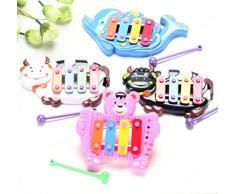 Internet Kinder Baby musikalische Bildung Tier Entwicklungsstörungen Musik Spielzeug 4 Weckerton
