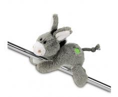 Nici 37689 - Esel MagNici mit gesticktem Kleeblatt, Plüschtier, 12 cm