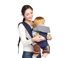 Chytaii.Babytrage Kindertrage Ergonomische Babytrage für Kleinkinder Verstellbare Multifunktions-Rückentragen Atmungsaktive Baumwolle 3-36 Monate Blau