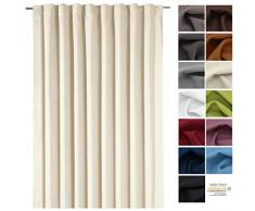 Gardine XXL Dekoschal BLICKDICHT Verdunkelungsgardine Thermogardine HxB 245x275 cm Kälte- und Wärmeisolierung …auspacken, aufhängen, fertig! Vorhang Typ139