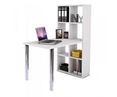 Schreibtisch weiß Holz Computertisch Kinderschreibtisch Jugendschreibtisch Bürotisch Kinderzimmer Jugendzimmer 322