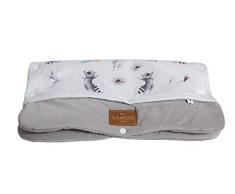 Kaninchen und Waschb/är Sango Trade Universal Kinderwagenmuff f/ür einen Trolley Handw/ärmer 28 x 50 cm Kinderwagen Handschuhe Baumwolle antiallergische F/üllung