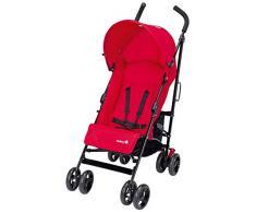Safety 1st Slim Buggy, leichter und zusammenklappbarer Kinderbuggy mit Sonnenverdeck, nutzbar ab 6 Monate - ca. 3,5 Jahre (0-15 kg), rot