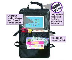 Auto-Rücksitztasche, Auto Organizer, Utensilien-Tasche - Halter für DVD Players, Tablets, Multimedia, Kinderwagen-Organiser, Reise- oder Travel-Organiser