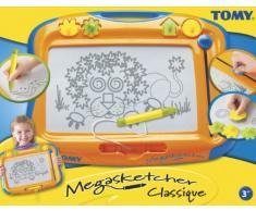 TOMY Magnettafel für Kinder Megasketcher mehrfarbig - hochwertiges Kinderspielzeug - Zaubertafel bunt ohne Wabenstruktur fördert die Kreativität - ab 3 Jahre