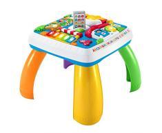 Fisher-Price DRH31 - Lernspaß Spieltisch, Lernspielzeug mit Lichtern, Sätzen und Liedern, mitwachsenden Spielstufen, Baby Spielzeug ab 6 Monaten, deutschsprachig
