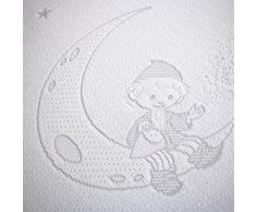 Betten-ABC Unser Sandmännchen Matratze mit eingenähten Stickereien, Gesamthöhe 10 cm, Schadstofffrei - Grösse 80x160
