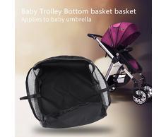 Kinderwagen Korb TOPINCN Kinderwagen Buggy Shopping Aufbewahrungskoffer BagStroller mit Getränkehalter Tragegriff