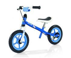 Kettler Laufrad Speedy Waldi – das ideale Lauflernrad – Kinderlaufrad mit Reifengröße: 12,5 Zoll – stabiles & sicheres Laufrad ab 2 Jahre – blau & weiß
