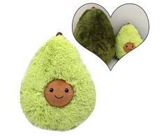 AMhomely® 2019 Weiches PlüschKissen niedlich Avocado Kissen Dekorative Kissen für Kinder Fotografie-Requisiten-Hintergrund, Sofa-Rückenkissen, Rundkissen, Hausdekoration (38cm)