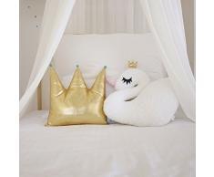 Schwan weiß, KLEIN 45x35, Prinzessin Traum, Mädchen, Geschenk, Kuscheltier Schwan, Schwan Kissen, Schwan Tier,