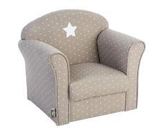 ATMOSPHERA Sessel für Kinder Taupe