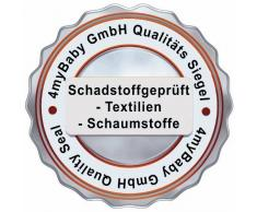 Best For Kids Kinderbettmatratze Reisebettmatratze Babymatratze Schaumstoff Matratze RG25/44 Ohne Bezug in 2 Gr. 60x120 und 70x140 cm (60x120)