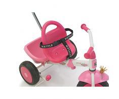 Kettler Dreirad Sicherheitsgurt - Dreiradgurt mit Schnellverschluss - hochwertiger, stufenloser Gurt für alle Kettler Dreiräder - hohe Sicherheit garantiert - schwarz