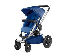 Quinny Buzz Xtra Kombi-Kinderwagen und Sportbuggy (ab der Geburt nutzbar mit Maxi-Cosi Babyschale, automatische sekundenschnelle Aufklappfunktion und robuste Reifen für jedes Gelände) blau
