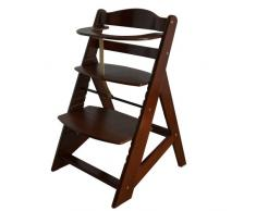 Treppenhochstuhl Babyhochstuhl Kinderhochstuhl Kindertreppenhochstuhl Babystuhl Hochstuhl - BRAUN HC2533-D02 BUNT